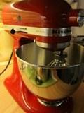 Červený frajer z mojej kuchyne a domáca zmrzlina