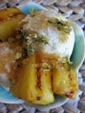 Zmrzlina ku grilovanému ananásu
