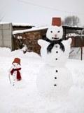 Sneh, vtáky a buchty