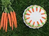 Mrkva v torte, mrkvy na torte