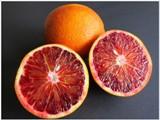 Červené pomaranče a curd
